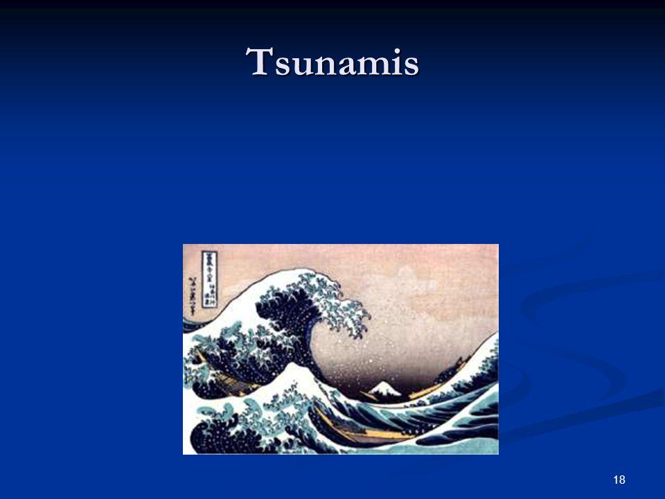 18 Tsunamis