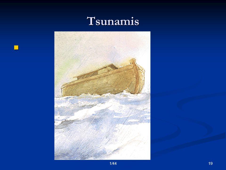 191/44 Tsunamis