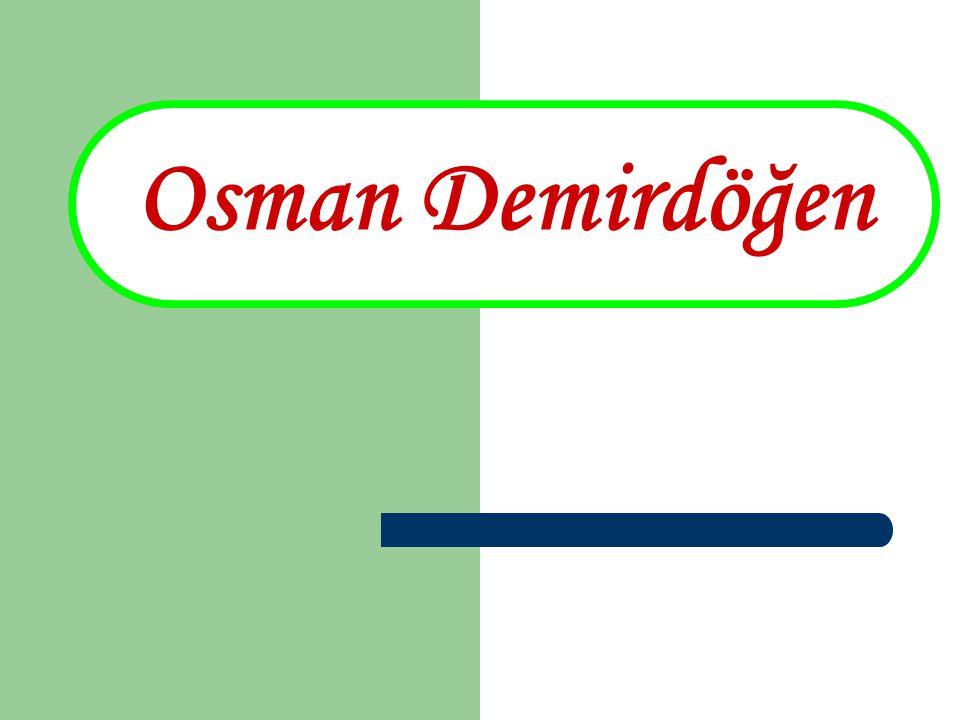 Osman Demirdöğen