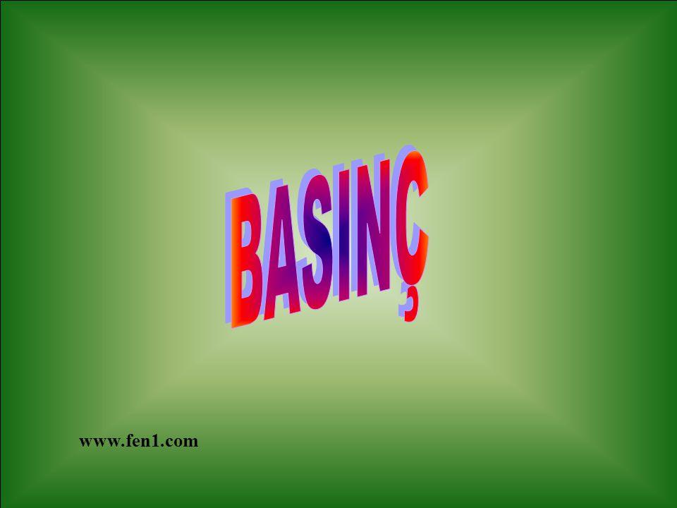 Açık hava basıncını ölçmeye yarayan araçlara BAROMETRE denir.