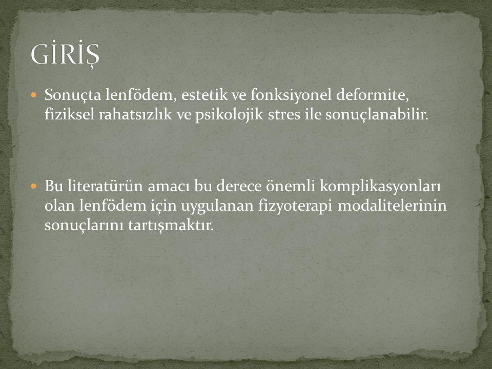 Bu çalışmada sistematik literatür derlemesi yapılmıştır.