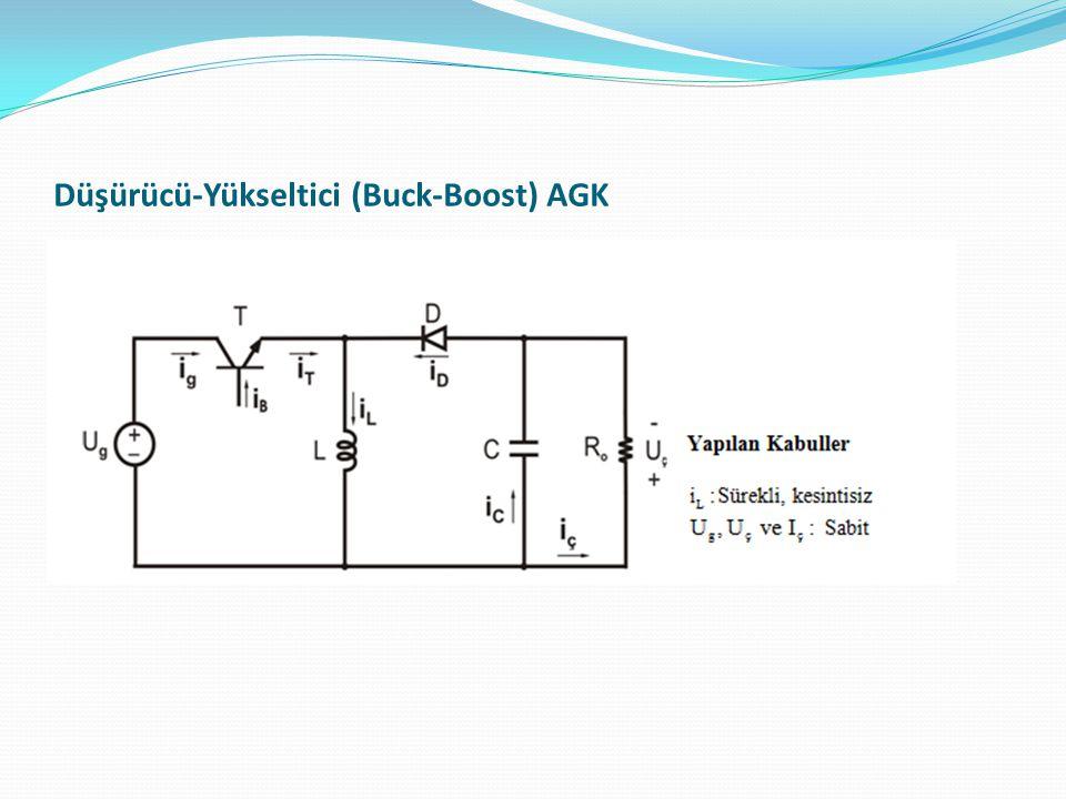 Düşürücü-Yükseltici (Buck-Boost) AGK