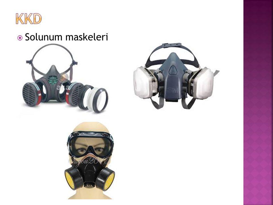  Solunum maskeleri
