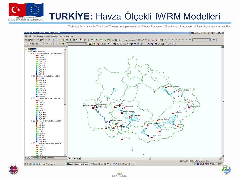 TURKİYE: Havza Ölçekli IWRM Modelleri