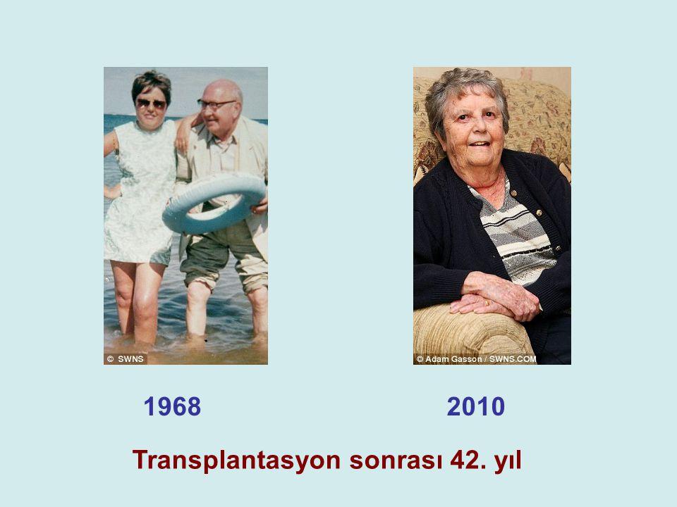 19682010 Transplantasyon sonrası 42. yıl