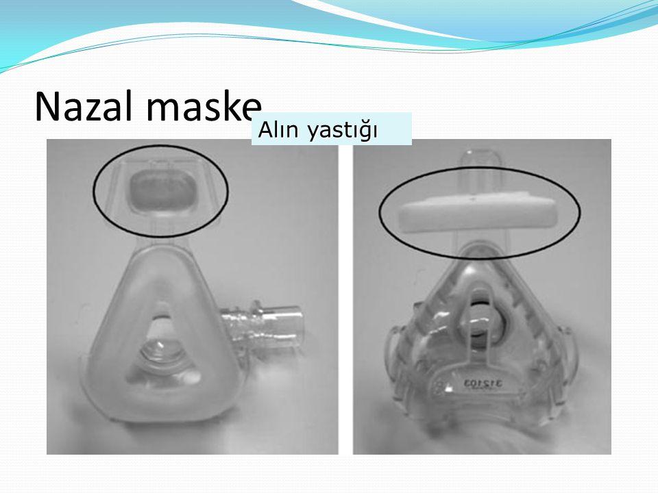 Nazal maske Alın yastığı