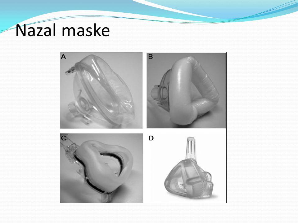 Nazal maske