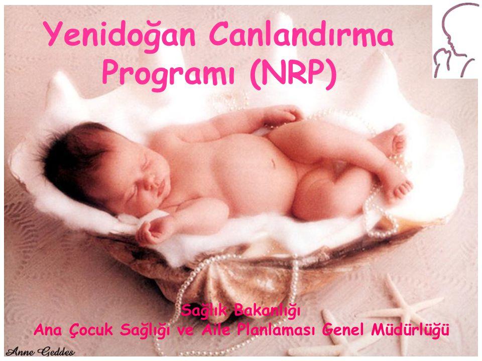 Yenidoğan Canlandırma Programı 1-1 Yenidoğan Canlandırma Programı (NRP) Sağlık Bakanlığı Ana Çocuk Sağlığı ve Aile Planlaması Genel Müdürlüğü