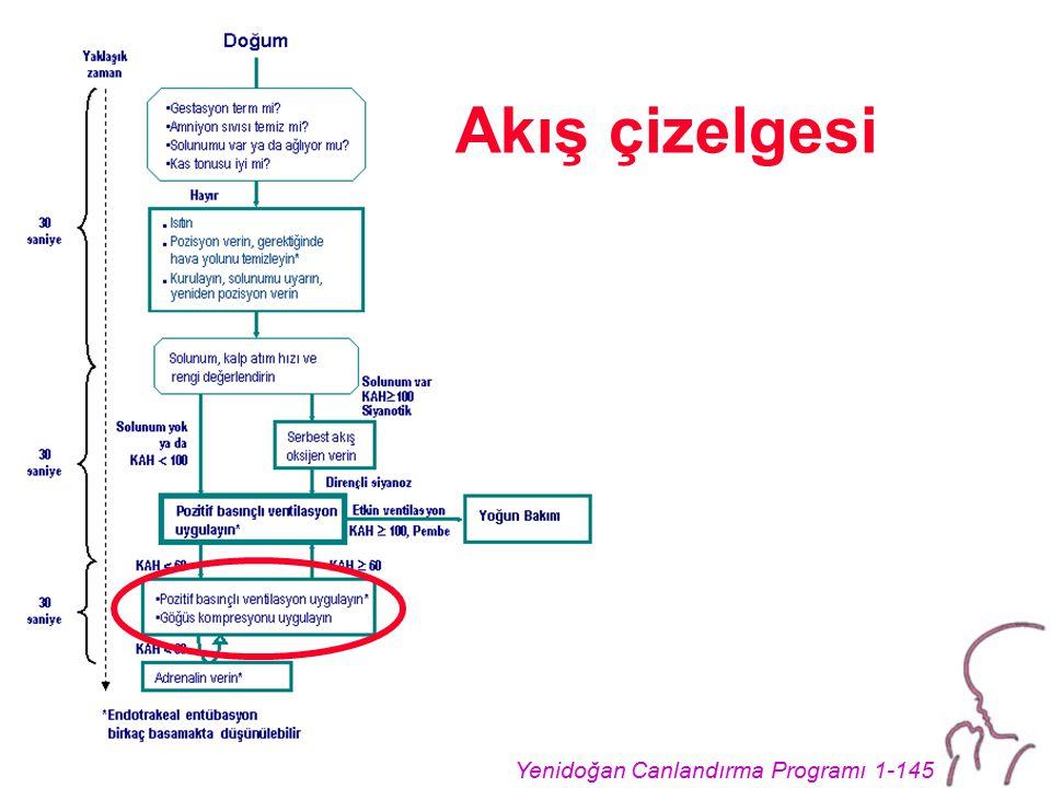 Yenidoğan Canlandırma Programı 1-145 Akış çizelgesi