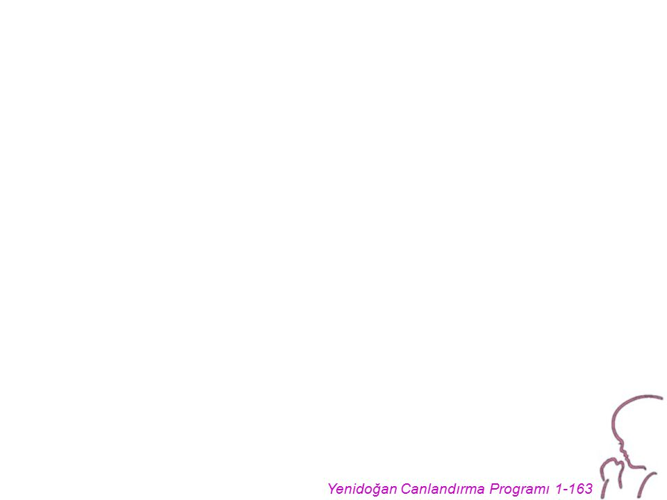 Yenidoğan Canlandırma Programı 1-163