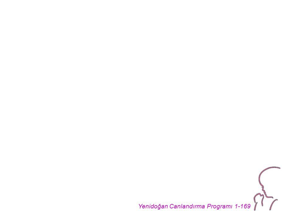 Yenidoğan Canlandırma Programı 1-169