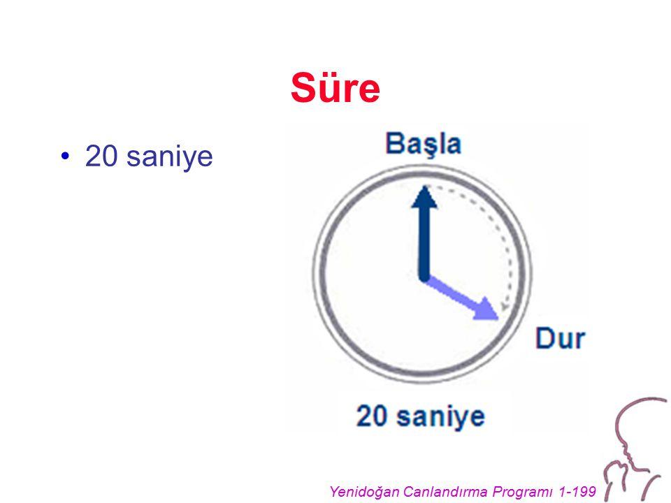 Yenidoğan Canlandırma Programı 1-199 Süre 20 saniye