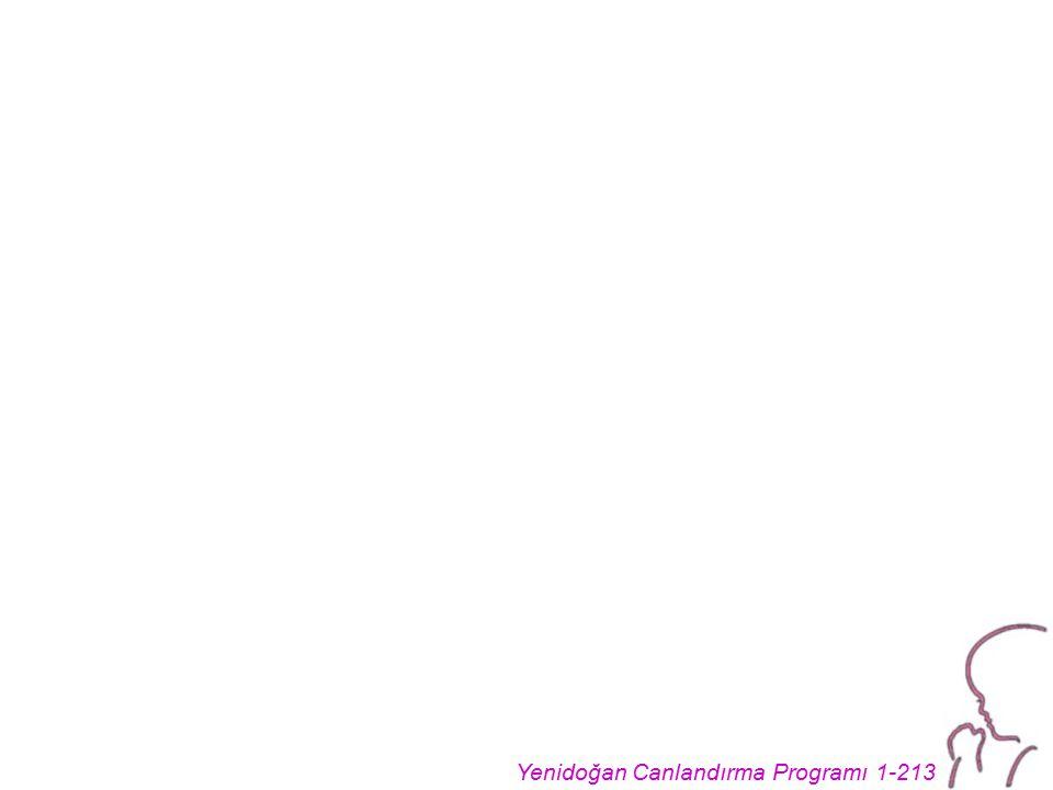 Yenidoğan Canlandırma Programı 1-213