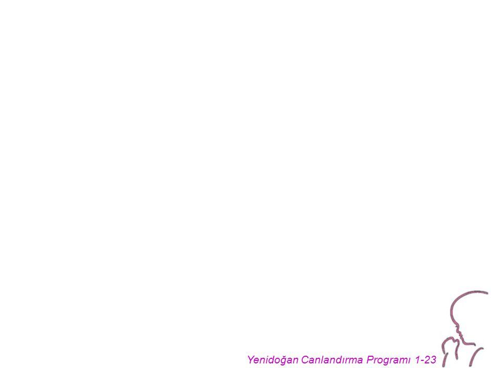 Yenidoğan Canlandırma Programı 1-23
