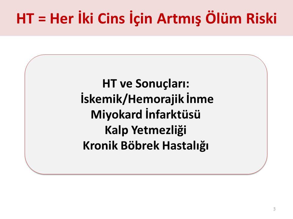 Türk Hipertansiyon ve Böbrek Hastalıkları Derneği, 2012 PatenT2 CİNSİYETE GÖRE ANTİHİPERTANSİF İLAÇ SAYISI ve HT KONTROLÜ 64