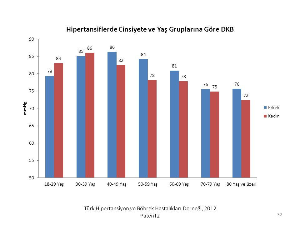 Türk Hipertansiyon ve Böbrek Hastalıkları Derneği, 2012 PatenT2 32