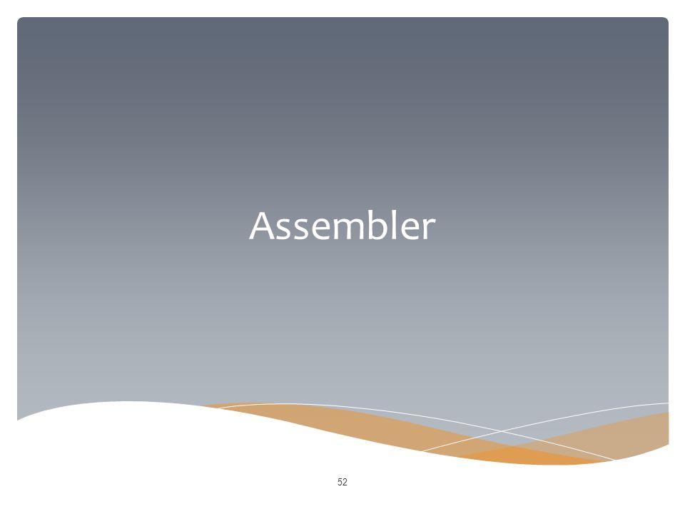 Assembler 52