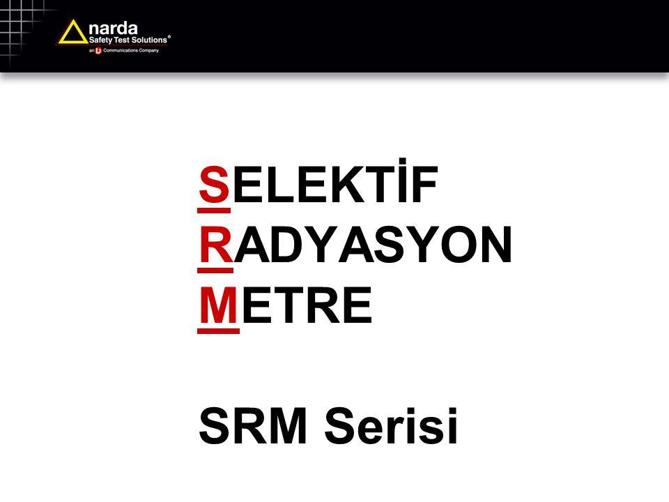 SELEKTİF RADYASYON METRE SRM Serisi