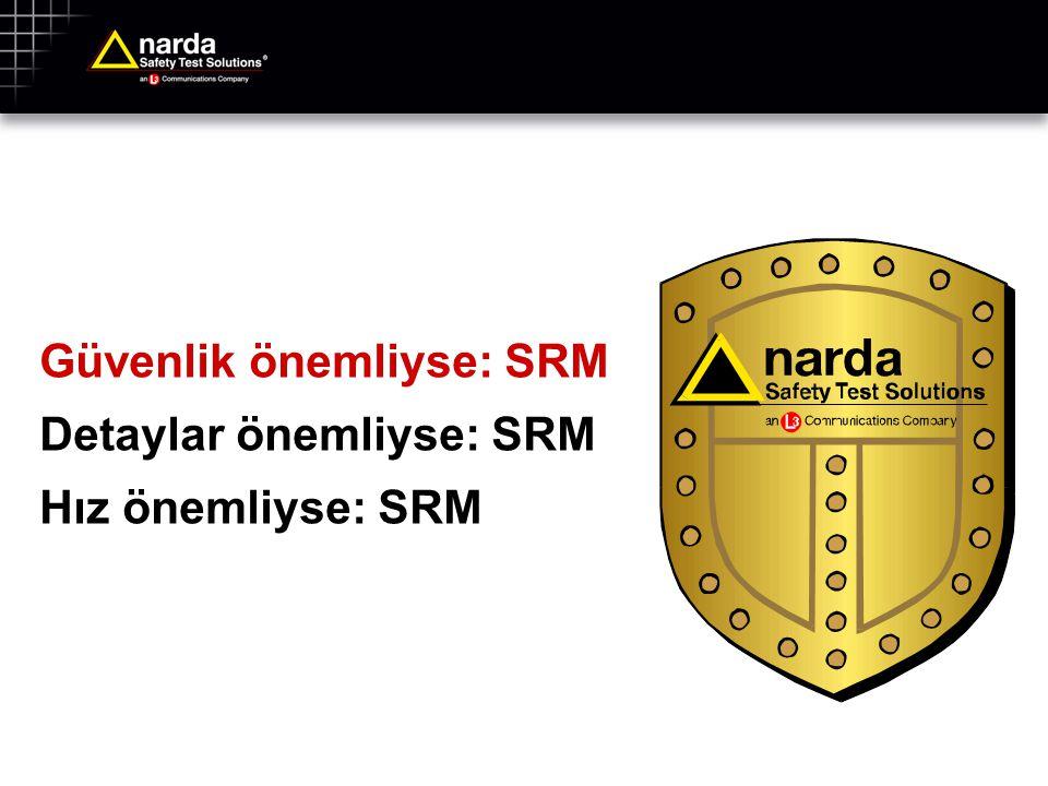 Güvenlik önemliyse: SRM Detaylar önemliyse: SRM Hız önemliyse: SRM