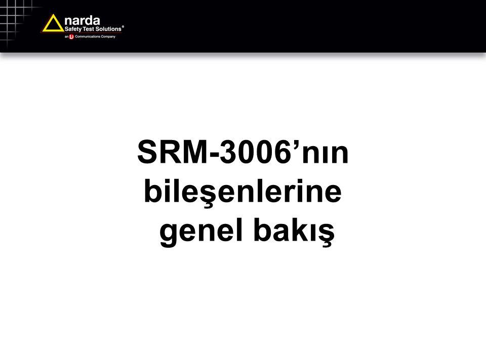 SRM-3006'nın bileşenlerine genel bakış