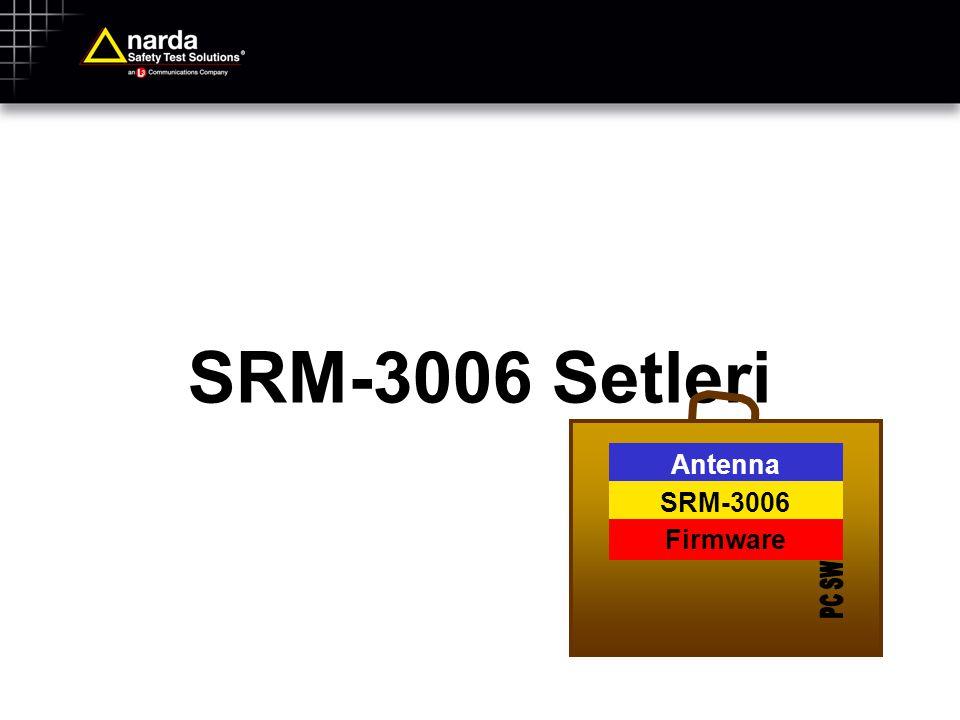 SRM-3006 Setleri Antenna SRM-3006 Firmware