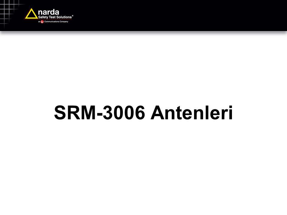 SRM-3006 Antenleri