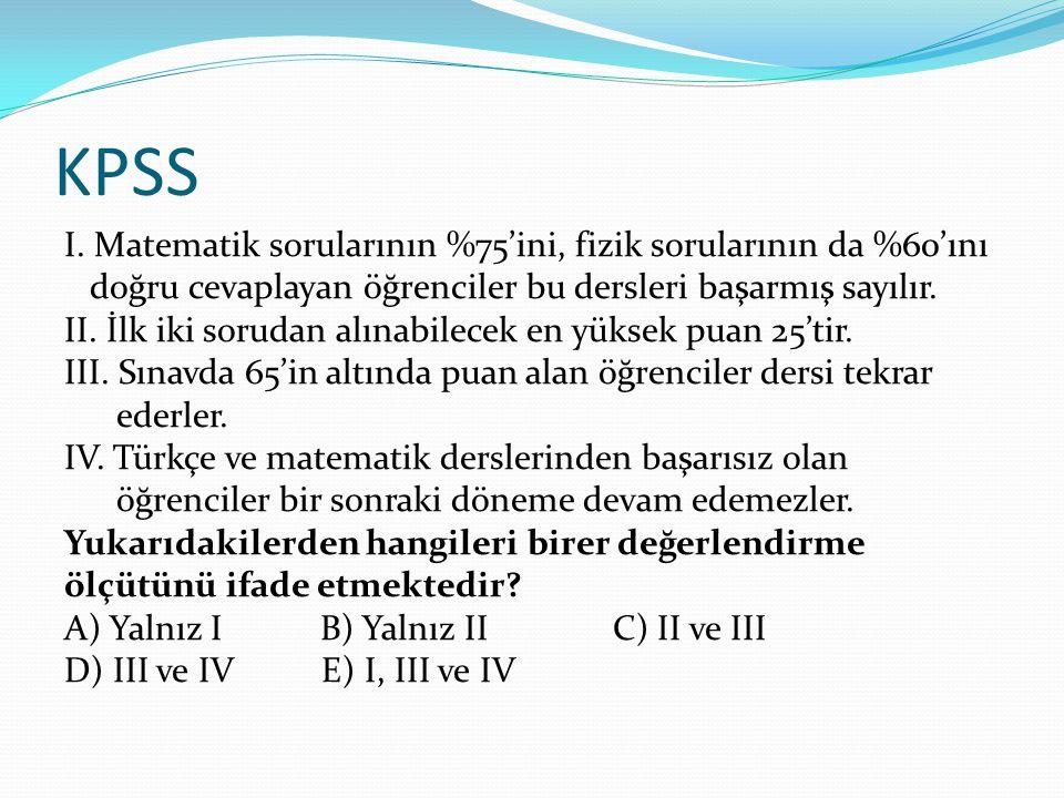 KPSS I.