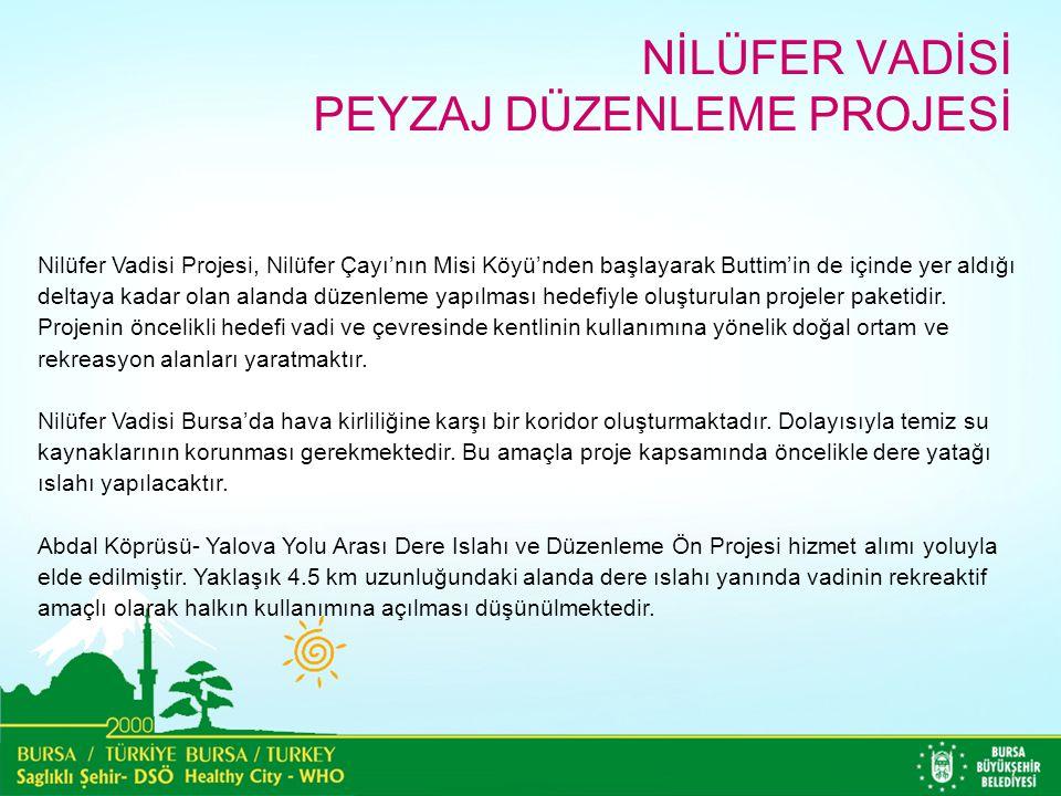 Nilüfer Vadisi Projesi, Nilüfer Çayı'nın Misi Köyü'nden başlayarak Buttim'in de içinde yer aldığı deltaya kadar olan alanda düzenleme yapılması hedefi