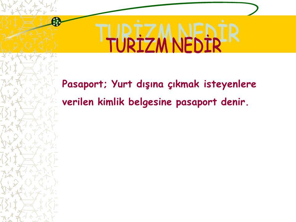 Turist; Gezmek, eğlenmek ve dinlenmek amacıyla seyahat eden kişilere turist denir.