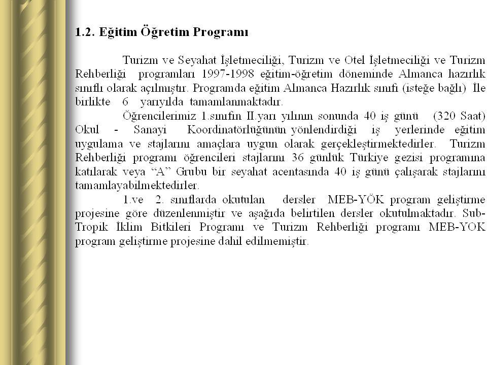 2.STRATEJİK PLANLAMA SÜRECİ 2.1.