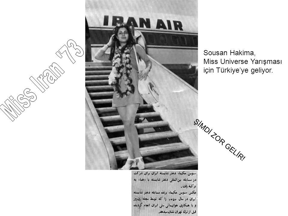 Sousan Hakima, Miss Universe Yarışması için Türkiye'ye geliyor. ŞİMDİ ZOR GELİR!