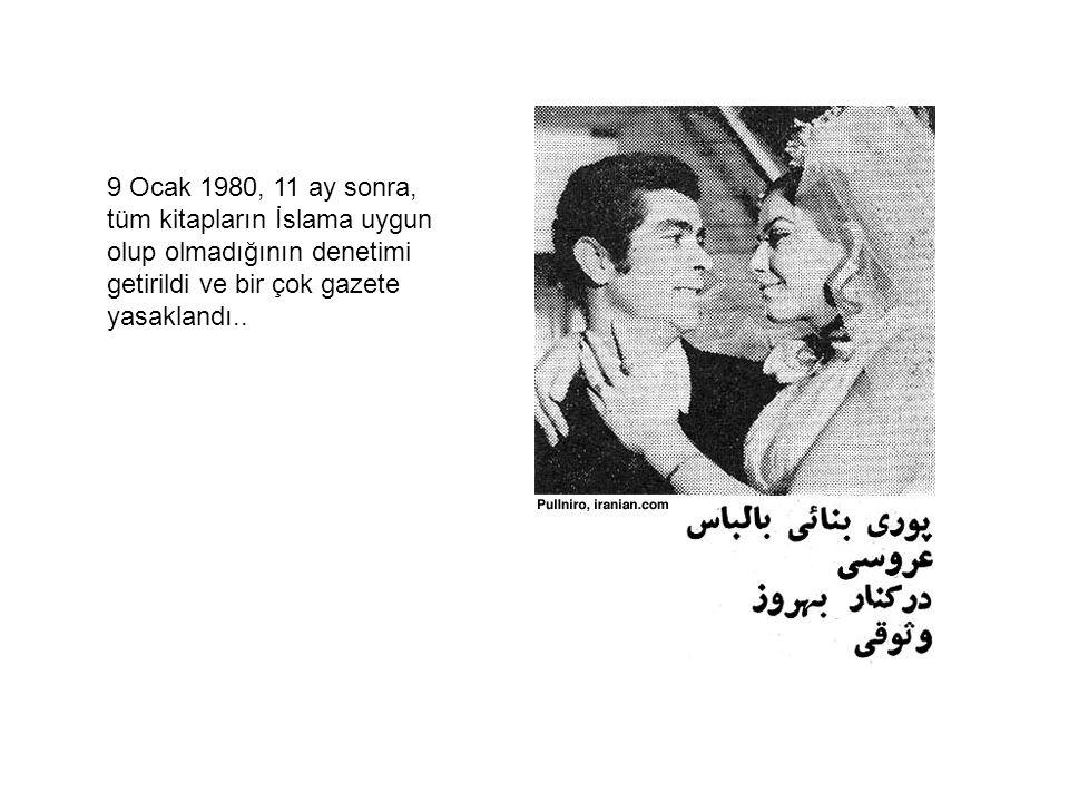 9 Ocak 1980, 11 ay sonra, tüm kitapların İslama uygun olup olmadığının denetimi getirildi ve bir çok gazete yasaklandı..