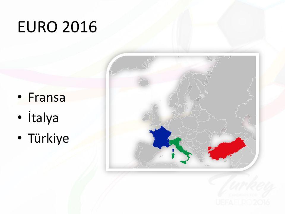 EURO 2016 Fransa İtalya Türkiye