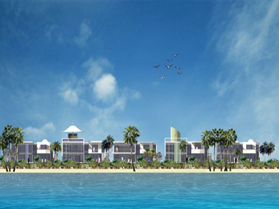 Adanın içerisi tam bir cennet…