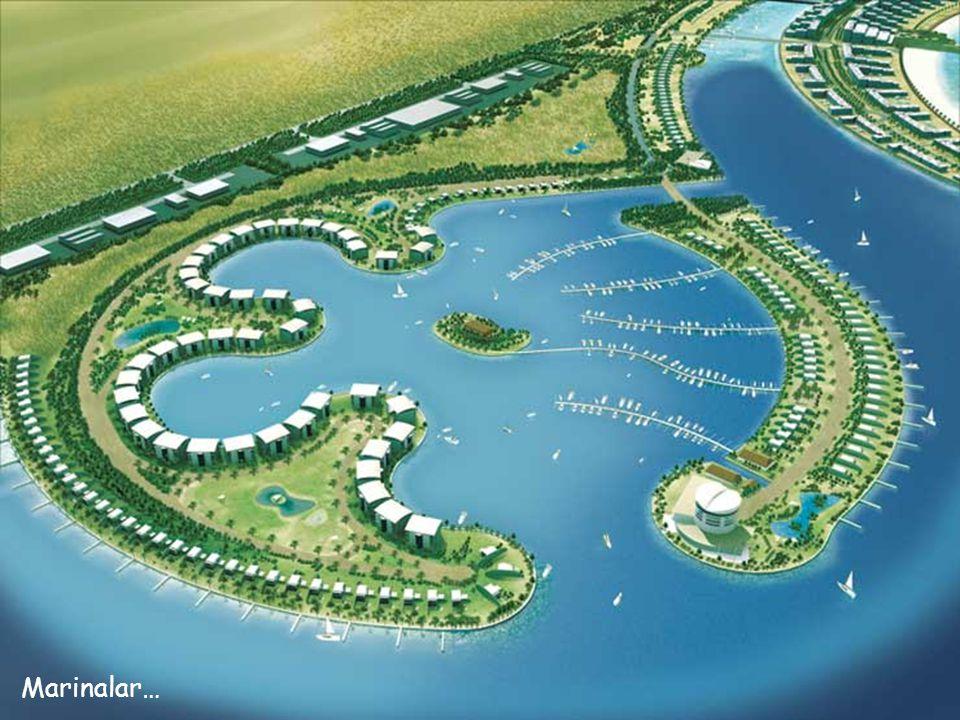 Balık şeklindeki Adalar…