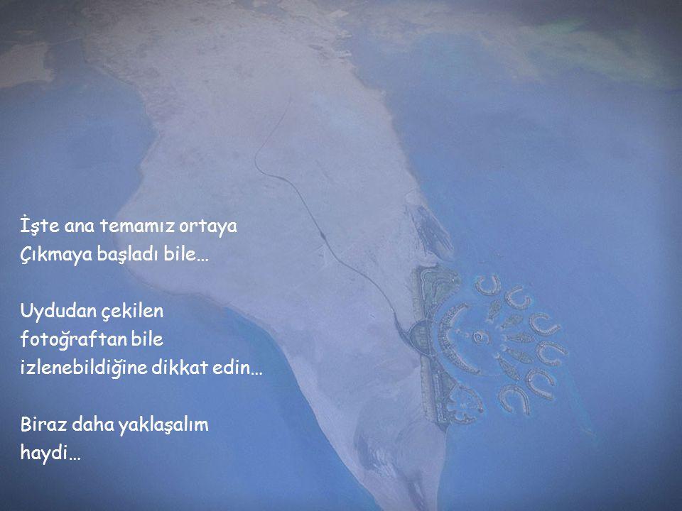 Bu Bahreyn adasının Uydudan çekilmiş bir fotoğrafı… Bu slaytın ana teması Şu an ekranda var ama Siz henüz onu göremiyorsunuz… İlerleyelim….