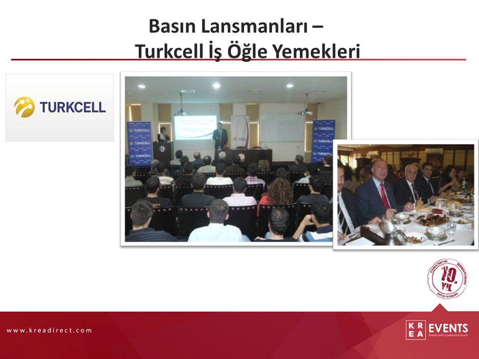 Basın Lansmanları – Turkcell İş Öğle Yemekleri