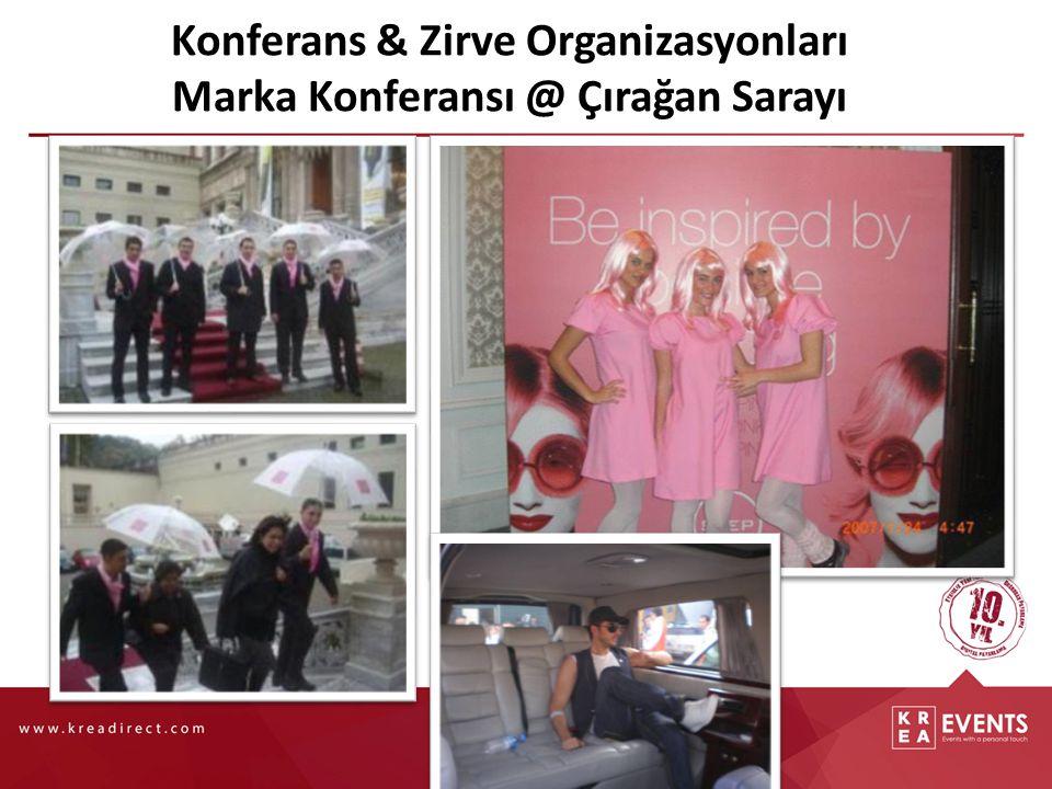 Konferans & Zirve Organizasyonları Marka Konferansı @ Çırağan Sarayı