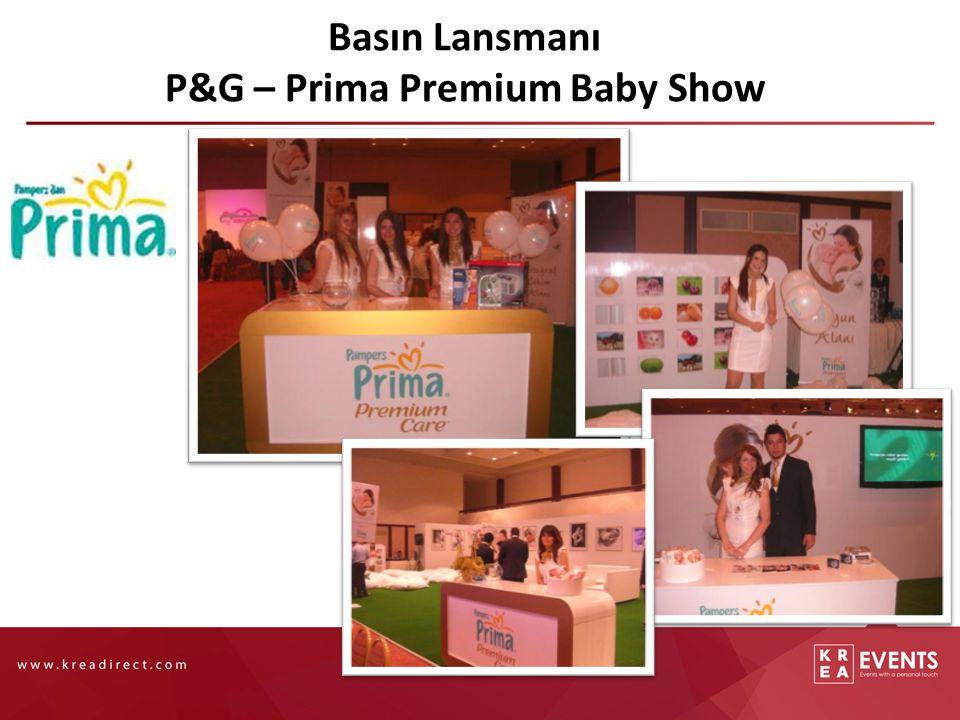 Basın Lansmanı P&G – Prima Premium Baby Show