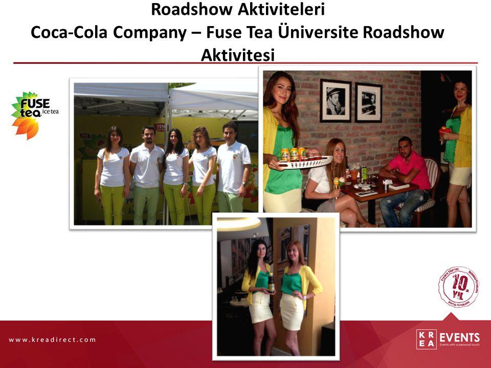 Roadshow Aktiviteleri Coca-Cola Company – Fuse Tea Üniversite Roadshow Aktivitesi