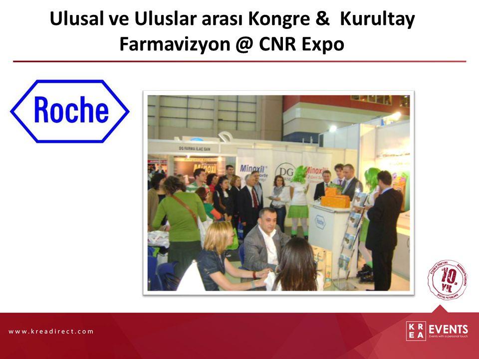 Ulusal ve Uluslar arası Kongre & Kurultay Farmavizyon @ CNR Expo