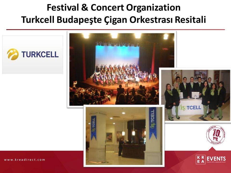 Festival & Concert Organization Turkcell Budapeşte Çigan Orkestrası Resitali