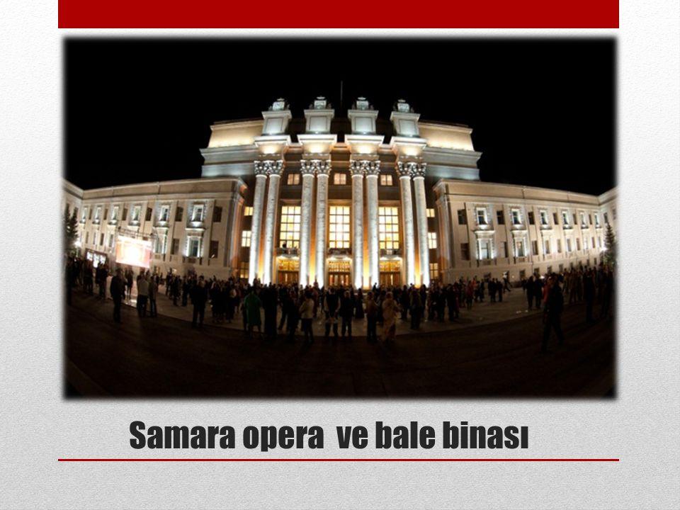 Samara opera ve bale binası