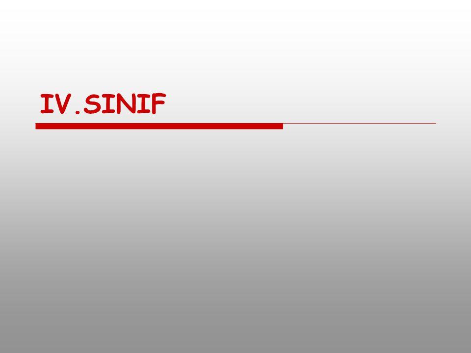 IV.SINIF