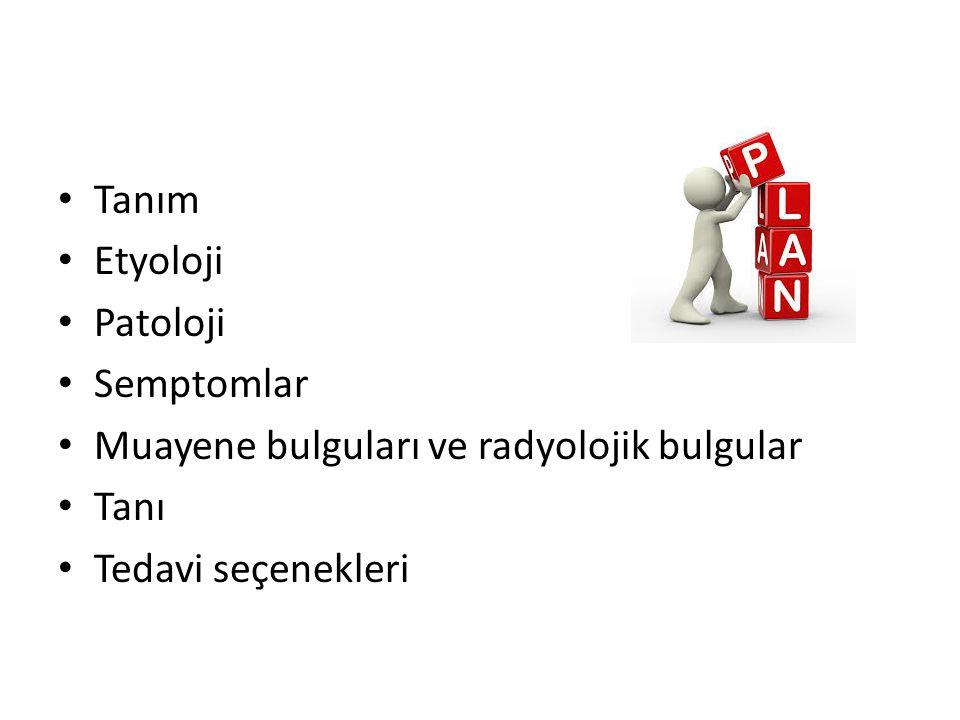 OA tanısı için EULAR tarafından belirlenen kanıta dayalı 10 öneri Diz ağrısı olan tüm hastalar muayene edilmelidir.