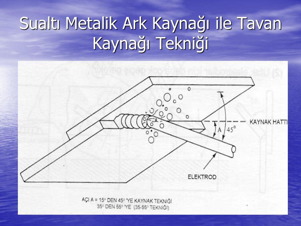 Sualtı Metalik Ark Kaynağı ile Tavan Kaynağı Tekniği