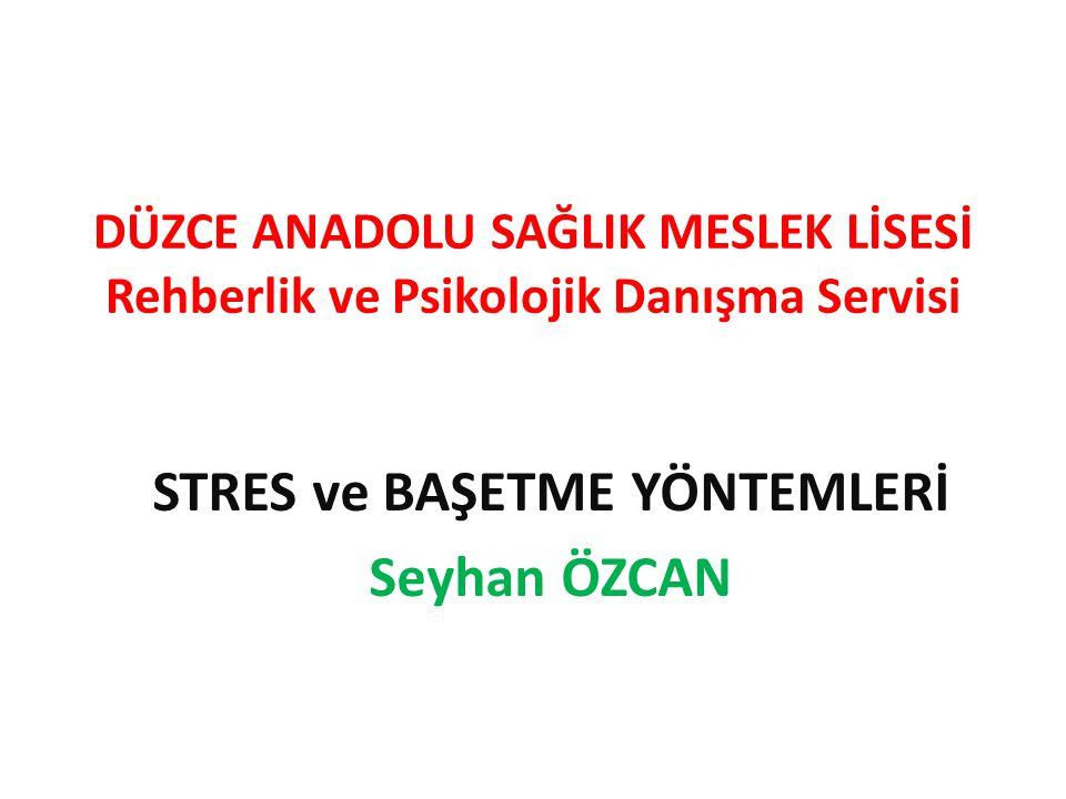 NEDEN STRES?