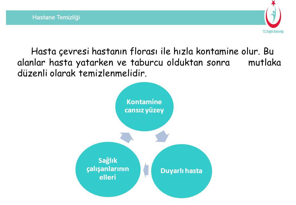 Hastane Temizliği Tartışmalı konular  Temizliğin değerlendirilmesi için kullanılan yöntemler standardize edilememiştir ve çevre üzerindeki etkileri tam olarak aydınlatılamamıştır.