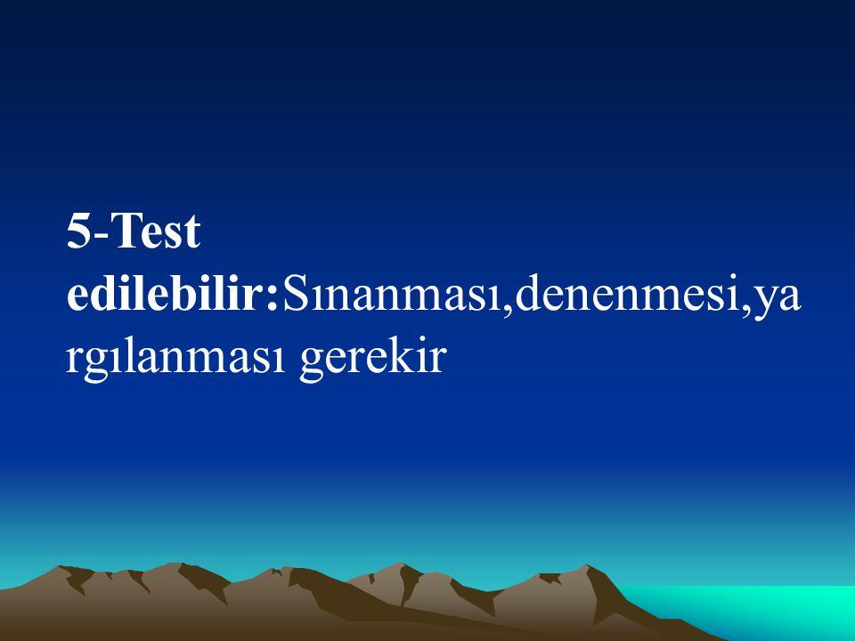 6-Sınırlılık:İki türlü sınırlılık:a- Bilimsel bilgiler Ankara'daki liselerde sınırlıdır.b-Eğitimin düzeyi düşerse bilimin sınırları daralır.Bilim dışı etkenler vardır.