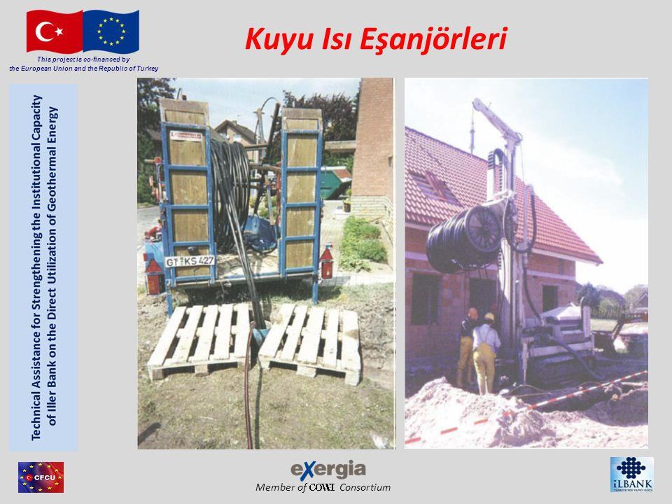 Member of Consortium This project is co-financed by the European Union and the Republic of Turkey Kuyu Isı Eşanjörleri